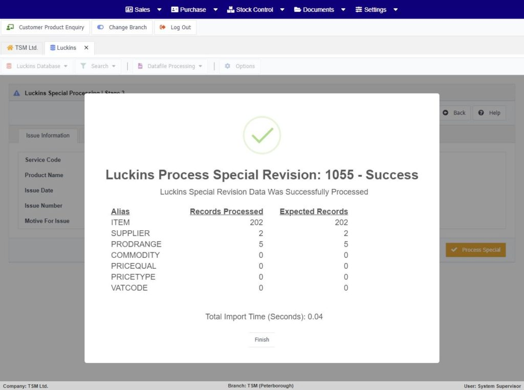 luckins-database-special-processing